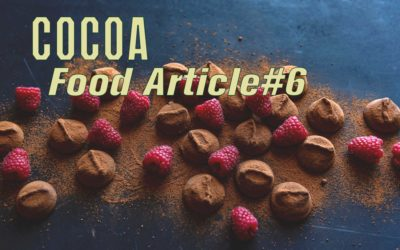 Food Article#6 – COCOA